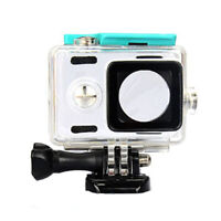 Camera Waterproof Case for Xiaoyi Sports Camera Transparent PC + Aluminum Alloy