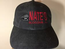 BALL CAP Men -Women- NATE'S SLOCOMB, ALABAMA OYSTER BAR- STONE WASH