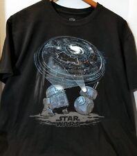 Star Wars BB8 R2D2 Projector Shirt XL Funko Pop Smuggler's Bounty Black Mens