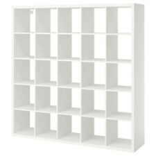 Kallax Shelf White, 20 Fan, 182x182 CM, Bookcase Wall Shelf Stands Sideboard