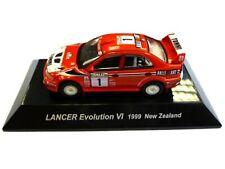 WOW EXTREMELY RARE Mitsubishi Lancer Evo6 Makinen N.Zealand 1999 1:64 CM's Kyosh
