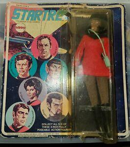 Lt Uhura Star Trek Mego 1974 Original On Card Excellent Figure Poor Package