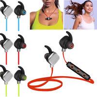 Magnet Wireless Bluetooth Stereo Sport Earphone Headset Headphone Sweatproof