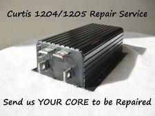 Curtis 1204 or 1205 Golf Car Controller REPAIR SERVICE