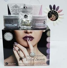 Le Chat Perfect Match Gel & Dip Powder - Veiled Secrets Collection Full 12 pcs