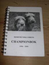 More details for rare scottish deerhound dog book by walhovd championbok 1996-2000