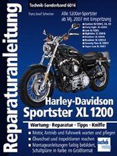 Harley-Davidson Sportster XL 1200 Reparaturanleitung ab Mj 2007 Bd 6014 NEU