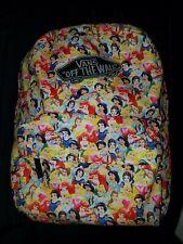 Vans Disney Princess backpack Belle, Ariel, Jasmine, Aurora  RARE 💕