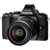 Olympus OM-D E-M5 Mirrorless Micro 4/3 W/12-50mm Lens BLK V204045BU000
