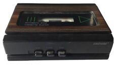 Vintage Rare Portable Woodgrain Encore Model 4901 Cassette Tape Deck