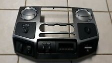 09 Ford F-250 Super Duty dash trim radio bezel brake controller Sync port