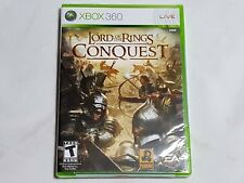 NEW The Lord of the Rings Conquest XBox 360 Game SEALED lotr hobbit US NTSC