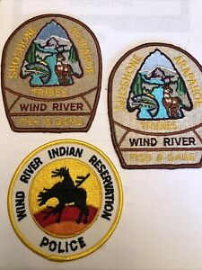 THREE SHOSHONE ARAPAHO TRIBES WIND RIVER FISH & GAME & POLICE WIND RIVER WYOMING