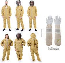 Beekeepers Bee Suit Bee Protective Suit Anti-Wasp Whit Free Sting Proof gloves