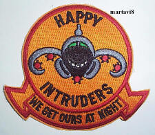 US. Navy `HAPPY INTRUDERS` Aircraft Cloth Badge / Patch (A9)