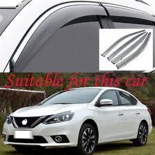 For Nissan Sentra 2013-2019 Window Visor Vent Sun Shade Rain Guard Door Visor