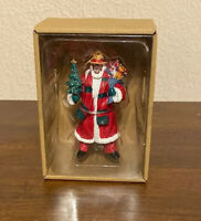 Santa Claus African American Ornament Allen & Roth New Keepsake Christmas