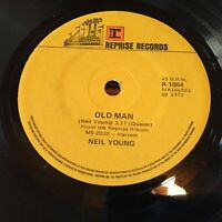 "NEIL YOUNG....OLD MAN /Needle and The Damage Done - - Australian REPRISE 7"" 45"