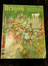 Vintage Dragon Role Playing Aid Magazine Beyond The Dungeon Rare Collectors # 87