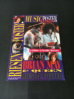 MUSIC POSTER EXCLUSIVE Nr.2/1991 Postermagazin QUEEN FREDDY MERCURY + BRIAN MAY