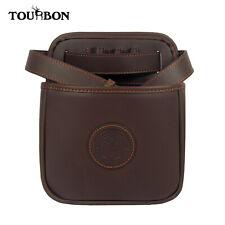 Tourbon Shotgun Ammo Pouch Cartridge Bag Holder Waistband Strap Leather Hunting