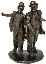 Laurel & Hardy Figurine Bronze Finish Resin Statue by Veronese Studio 96285