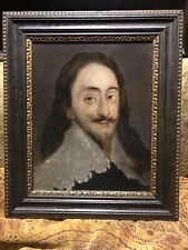 17th Century English Oil Portrait Of King Charles 1 Circle Of Theodore Russel
