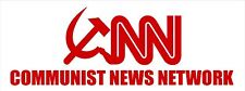 COMMUNIST NEWS NETWORK - Bumper Sticker Decal