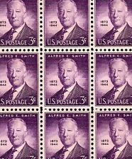 1945 - Ny Governor Al Smith - #937 Mint -Mnh- Sheet of 100 Postage Stamps