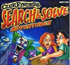 Cluefinders Search & Solve Adventures Pc Mac New Cd In Paper Sleeve Win10 8 7 XP