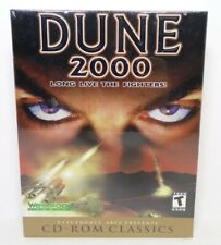 Dune 2000 by Westwood PC, 1998, 2000 Big Box CD-ROM New Old Stock Factory Sealed