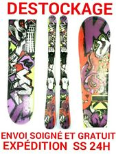 "ski occasion enfant K2 ""JUVY"" taille:129cm + fixations double spatule"