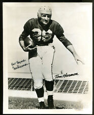 Tom Harmon Signed Photo 8x10 Autographed Michigan Heisman JSA Y37721