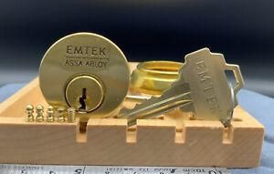 Assa Medeco Emtek Mortise Lock, 5 Pin Sparrow's Chess Pins Locksport, 2 Keys