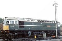 PHOTO  CLASS 33 LOCO NO 33058 AT HITHER GREEN DEPOT 1989
