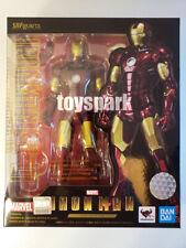 BANDAI S.H.Figuarts Marvel Avengers Iron man Mark 3 Mk III IRONMAN action figure
