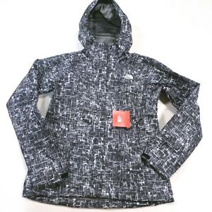 $129 Women's The North Face Novelty Venture Jacket Black Print Small NWT