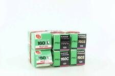 Fujicolor Pro 160S 160 S 160C  160L 120 6 Rolls Fujifilm  MDH 2006/1983