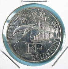 246 - 10 € FRANCE - 2011 : Région Réunion - argent