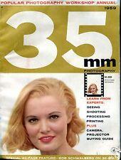 35mm Photography Magazine 1959 ACC Reader's Copy No ML 091416jhe