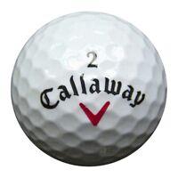 50 Callaway HX Diablo Golfbälle im Netzbeutel AA/AAAA Lakeballs Bälle Golf