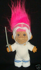"FENCER Russ Troll Doll FENCER FENCING 5"" New in Bag"
