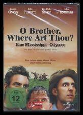 DVD O BROTHER WHERE ART THOU? - GEORGE CLOONEY + JOHN GOODMAN + JOHN TURTURRO **