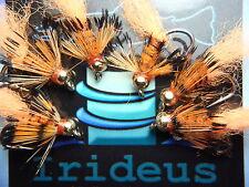 Irideus Custom Ishi Headdress Bead Head Nymph Trout Fly Fishing Fly Steelhead