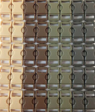 """100 3/8"""" Plastic Buckles curved side release for paracord bracelet Military Mix"""