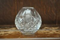 A Beautiful Vintage Crystal Cut Glass Bowl/Ball Styled Vase