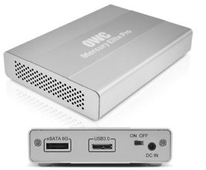 OWC Mercury Elite Pro mini Portable External Storage Enclosure USB 3.0 eSATA 6G