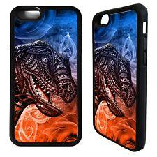 Tyrannosaurus rex head dinosaur t rex case cover for iphone 5 5s 6 6S 7 8 plus X