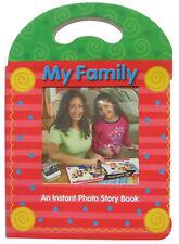 3 POLAROID 600 FILM FAMILY PHOTO STORY BOOK ALBUM NEW