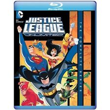 Justice League Unlimited The Complete Series - Blu-ray Mod Region 1